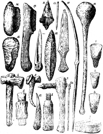 the history of iceman during the stone age