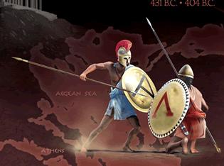 athens vs. sparta peloponnesian-war