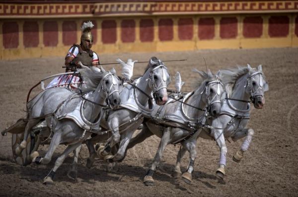 chariot races rome