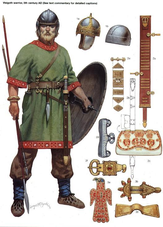 5th Grade Geography: The Germanic Tribes And The Scottish Picts!