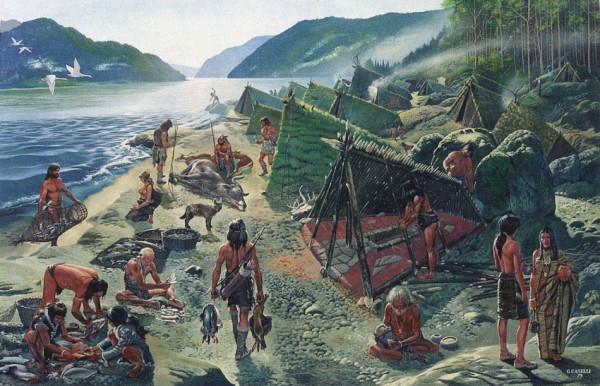 paleolithic hunter gatherers
